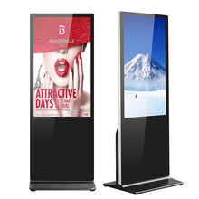 factory supply 43 49 55 65 inch floor stand digital signage/lcd display/advertising screen