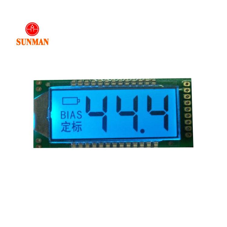 Garmin schermo lcd con 3 numeri + 1 radix punto + 2 richiamo