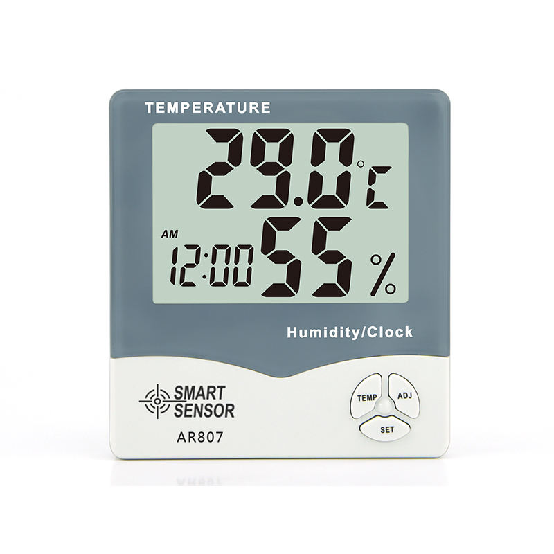 SMART AR807 Humidity Temperature Indicator Cheap Thermo Hygrometer