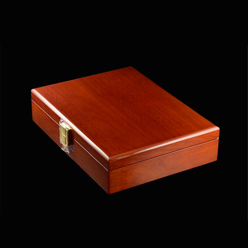 High Quality Painted Wooden Boxes 240*180*55mm Luxury Gift 20 pairs Capacity Cufflinks Box