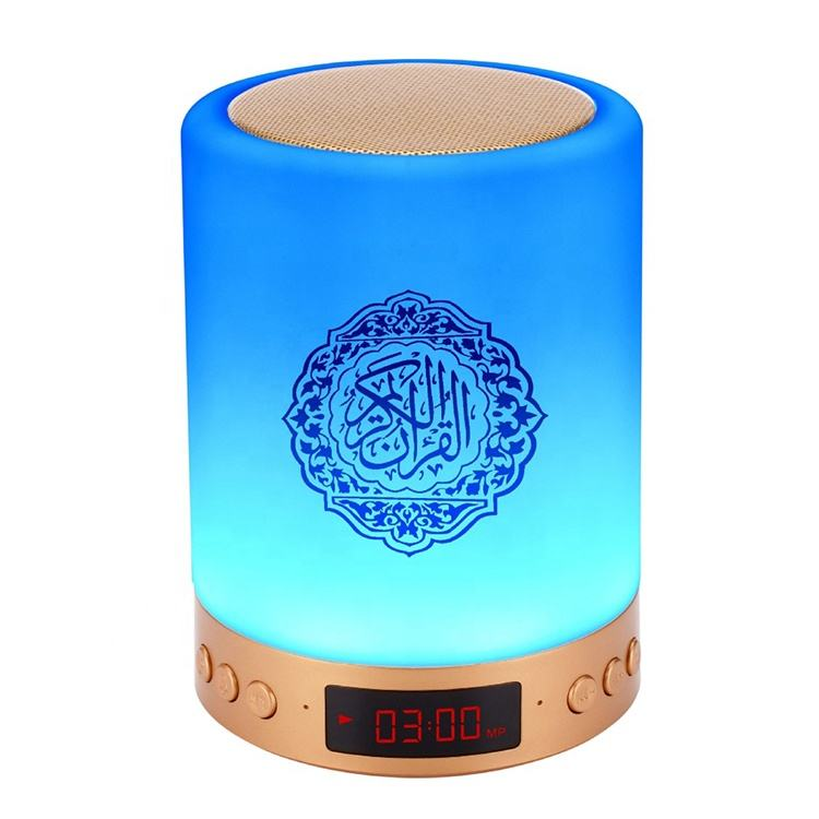 Grosir Speaker Bluetooth Remote Kontrol Sentuh Colorful Led Speaker Touch Lampu <span class=keywords><strong>Quran</strong></span> Speaker