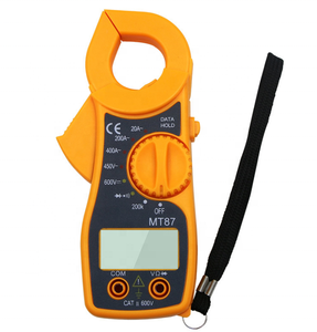 MT-87 Clamp Meter Multimeter Spannung und Strom Meter Messen Widerstand Spannung Sweep Beep Digital Clamp Meter