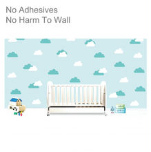 Manufacturer Good Waterproof Stickers Home Decoration Cloud PP Decorative Wall Sticker