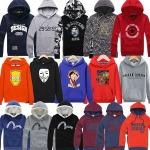 Mix design mix color men fashionable hoodie stock for wholesale