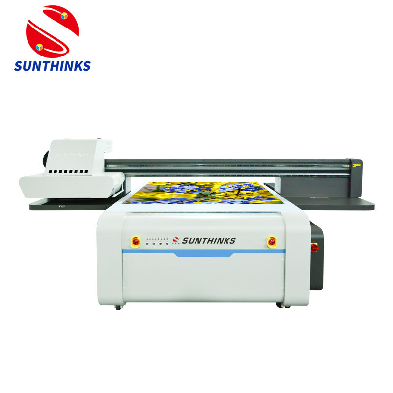 Sunthinks 2020 Beste 1.5*1.3M Mimaki Flatbed <span class=keywords><strong>Printer</strong></span> Uv Varnish Printing Machine