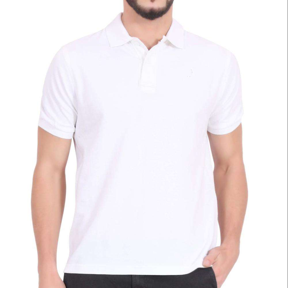 Newest Men's Compression Three Button Polo T-shirt/Men's Wholesale High Quality Cotton Polyester Polo T-shirt
