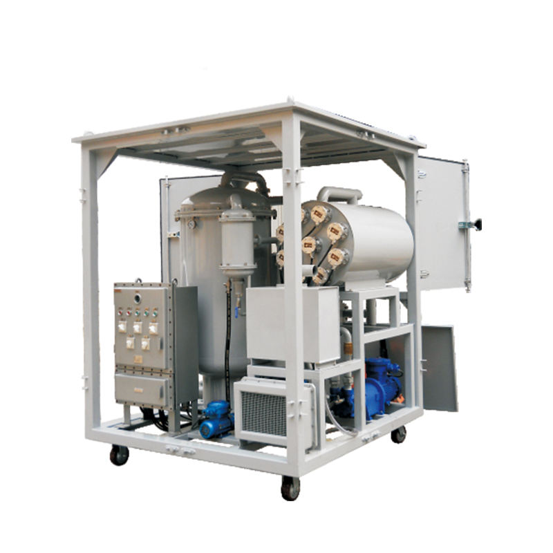 double stage with multi-function transformer oil purifier/ insulation oil filtration machine