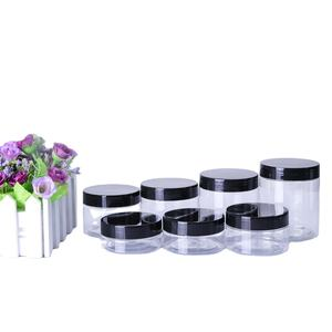 non-leakage plastic cosmetic jar for packaging,PET plastic cosmetic jars