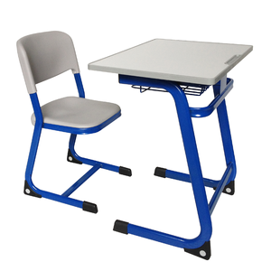 Metal Educational Furtniture School Table and Chair Set in Dubai