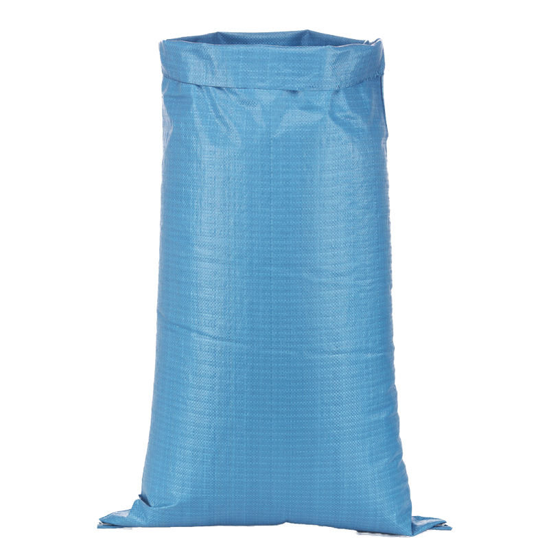 customized blue 25 50 kg postal bag plastic custom mailing pp woven polypropylene sacks/bags