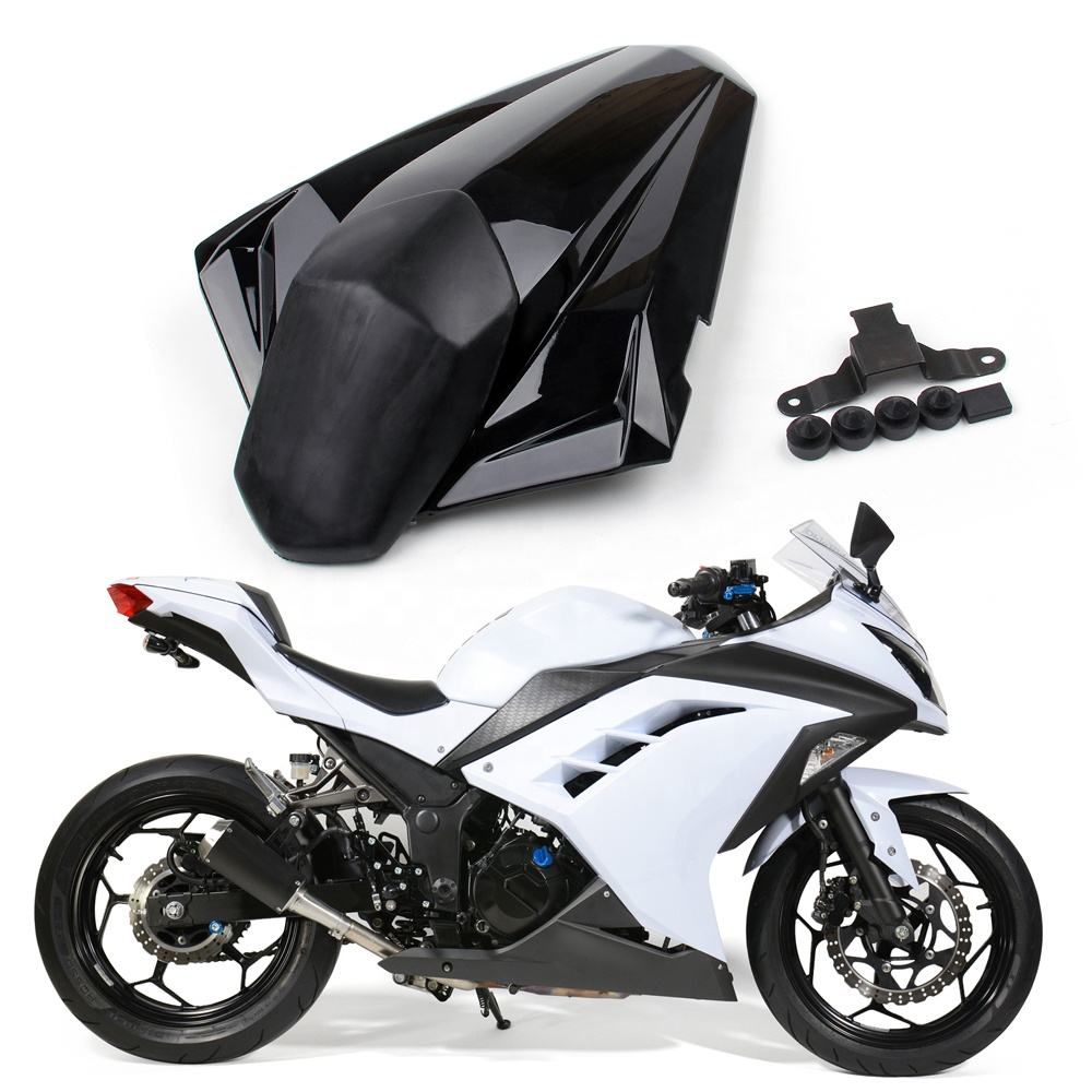 Rear Seat Cover cowl Fit For Kawasaki Ninja 300R / EX300R 2013-2015 Black
