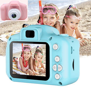 Digital 2 Inch 1080P Children Flexible Camera Toy Video Cartoon Security Mini Photo SafeVideo Action Kid Camera