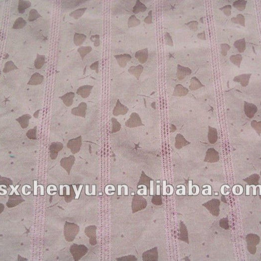 T/C DOBBY BURN OUT WOVEN FABRIC