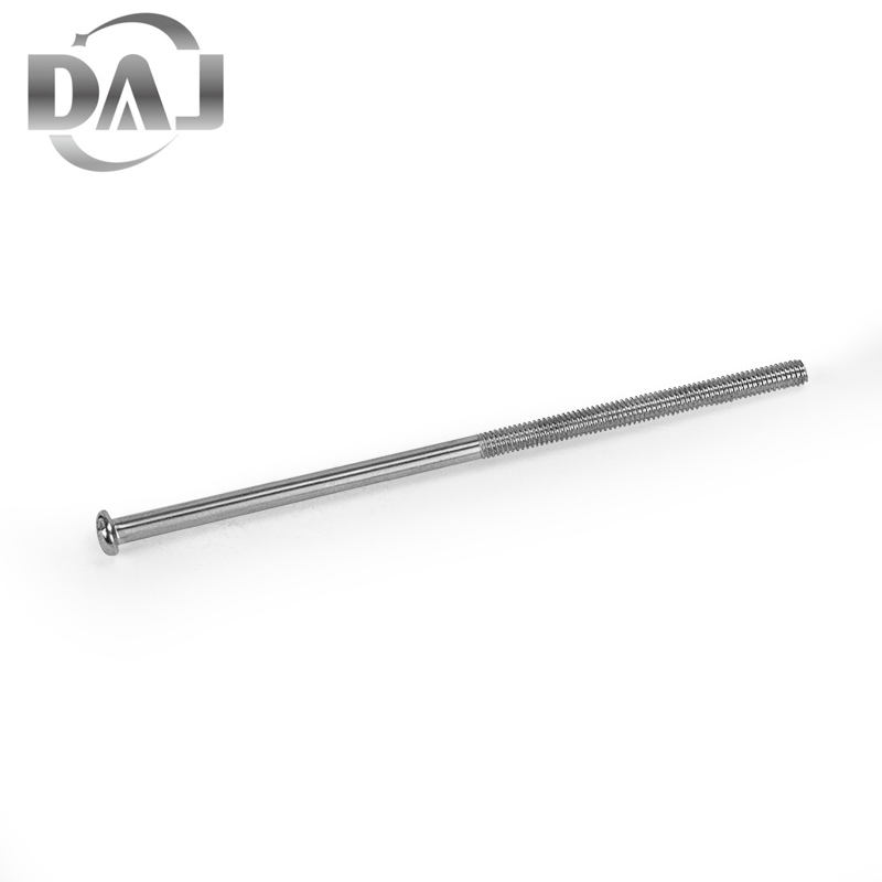 High Precision Wholesale Stainless Steel 304/316 Zinc Plated Grade4.8 Thread Rod