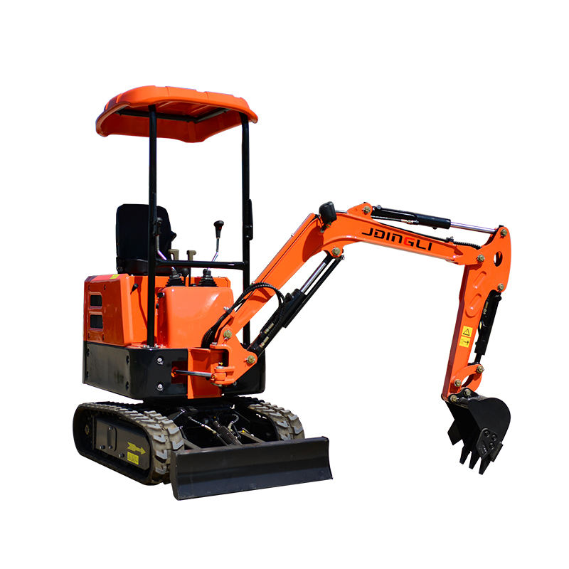 multifunction Fully Hydraulic Crawler 1.2 Ton Mini Digger Excavator for farm