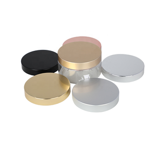 70/400 custom cosmetic metal aluminum plastic cream screw top jar cap lid