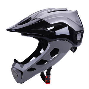 CE CPSC Certified All Mountain Bike Helmet Enduro MTB Bicycle Helmet Removable Chin Bar Adults Full Face Cycling Helmet