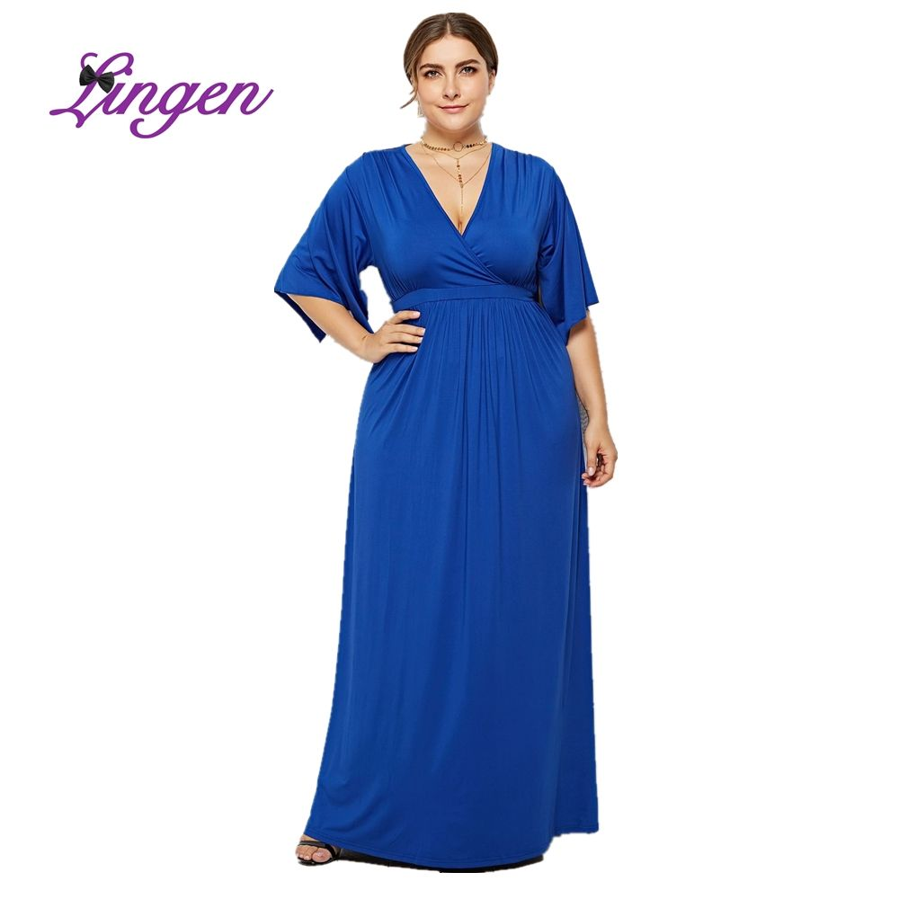 Women Dresses New Style Elegant Trendy Ladies Party Plus Size High Quality Evening Dress