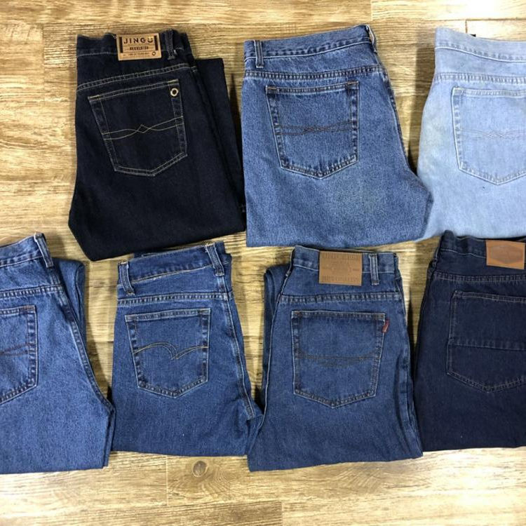 GZY bulk mixed cheap jeans overstock