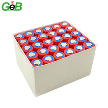 Factory hot sales customized rechargeable 3.7V 3000mah li-ion battery flat head battery for toy and fans