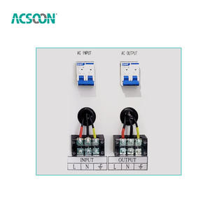 AF50 10kva Power Supply Ac Single Phase Regulator Automatic 8kw 50Hz Tegangan Stabilizer