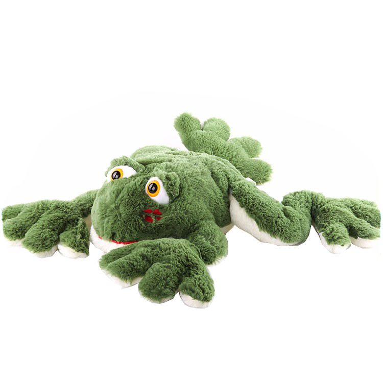 Wholesale Fast Delivery Soft Green Frog Stuffed Toys 60cm Frog Mixed Design Soft Toy Plush Toy for kids