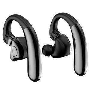 Q9S Tws Bluetooth Earphone Sport HI FI Kembar Nirkabel Headset Ear Hook Bluetooth V5.0 untuk Android IOS Musik