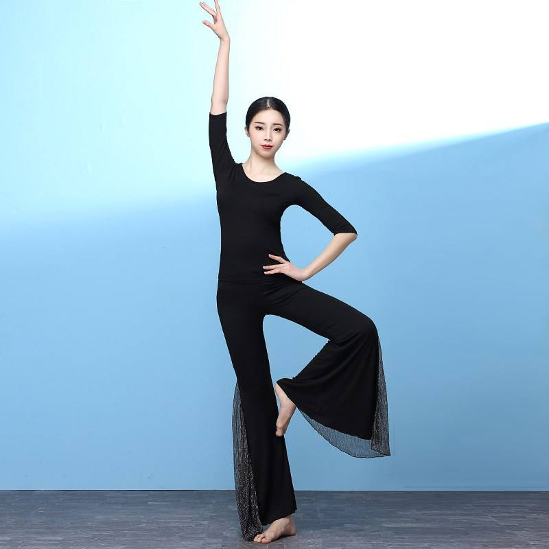 Short Sleeve Shirt Jazz Dance Costumes in Performance Wear