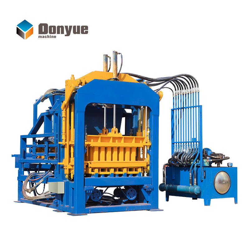 HOT SALE full automatic hollow block machine model QT4-15