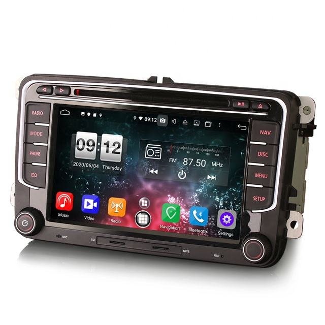 2021 Erisin ES8735V 7 zoll DSP Android 10,0 <span class=keywords><strong>Auto</strong></span> DVD <span class=keywords><strong>Radio</strong></span> CarPlay <span class=keywords><strong>Auto</strong></span> GPS 4G TUPFEN WiFi für <span class=keywords><strong>VW</strong></span>