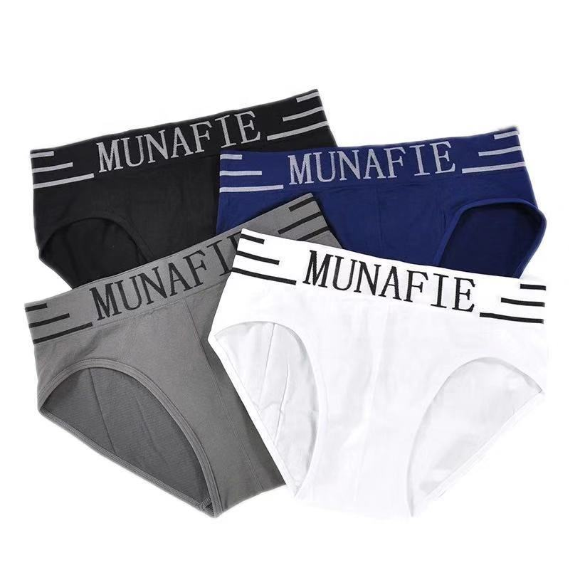 Factory Outlet Printed Letter Comfy Underpants Soft Good Elasticity Men's Briefs Seamless Underwear