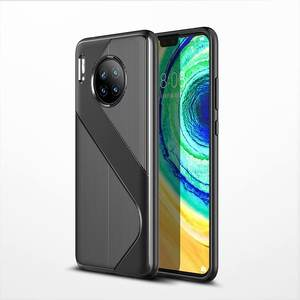 Neue S Linie Muster Extreme Auto Weichen TPU Telefon Fall Für HUAWEI Mate 30/Mate 30 Pro