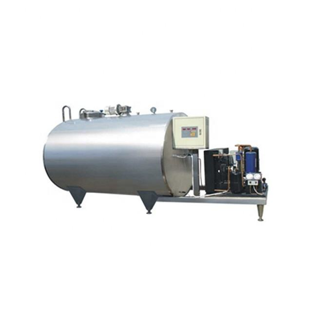 High quality stainless milk cooling storage transport silo tank price 2000l