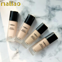 Maliao Cosmetic Bulk Wholesale Makeup Matte Liquid Foundation Base For Black Skin