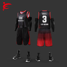 Customizable Basketball Wear Set Sublimated Basketball Jersey Uniform