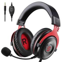Free Sample EKSA Wired Stereo Gaming Headset Gamer Headphones for PS4 Xbox One PC