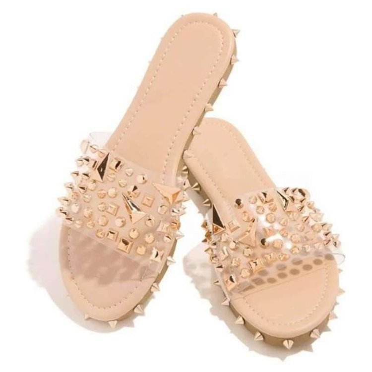The Big Size Casual Lady Summer Slipper Beach Plastic Jelly Woman Shoes Pvc Girl Sandals