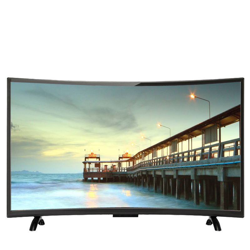 Full HD Televisions With WIFI Led TVs From China Led Television curved 4K Smart TV 55 inch with HD FHD UHD Normal LED TV