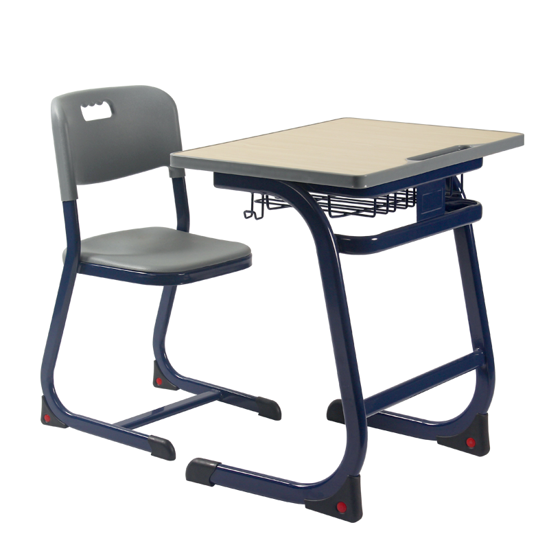 Hot sale comfortable university school furniture desk and chair
