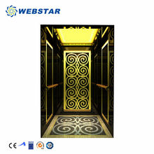 Small Machine Room And Cheap Restaurant Or Home Decorative Auto Vertical Simple Commercial Residential Passenger Elevator