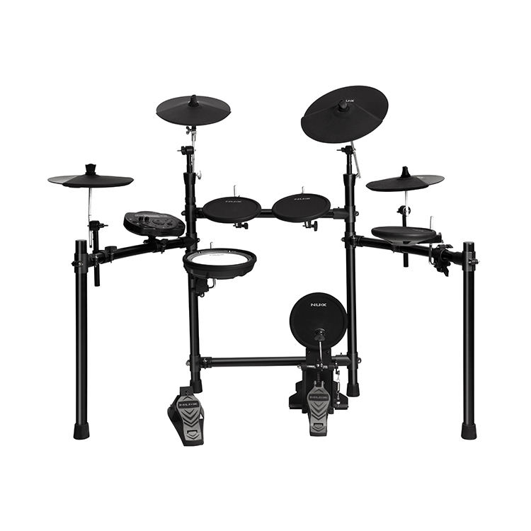 NUX DM-5S portable electronic drum kits musical instruments drum set sale digital with drum pads cymblals stands and sticks