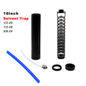10inch Solvent Trap Fuel Filter 1/2-28 Kits Monocore Fuel Trap Solvent Filter Parts 5/8-24 1/2x28 Cups Single 5/8x24 NAPA 4003