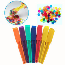 Custom colorful magnetic wands with 100pcs metallic bingo Chips Kits