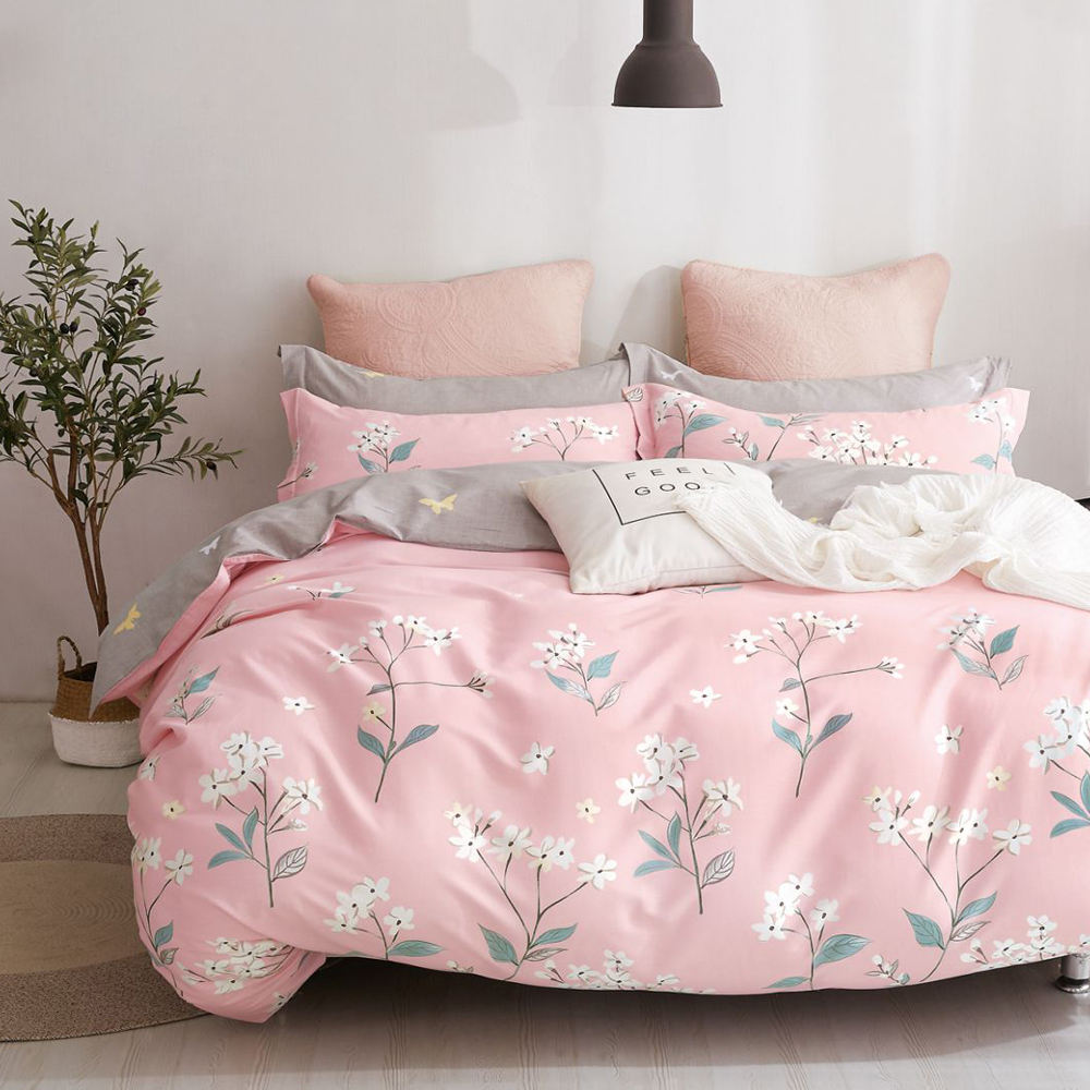 Wholesale bed sheet bedding set 100% cotton bedspread comforter set bedding for home