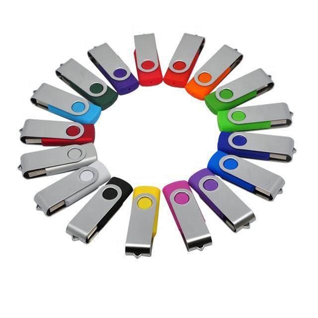 colorful plastic swivel USB Flash Drives/custom mini metal usb drives/novelty shape usb memory stick advertising for promo gifts
