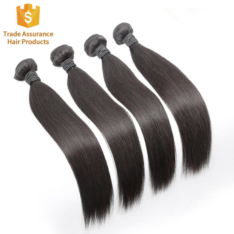 100% Human Pure Natural Virgin Hair Extension, Factory Price Double Sew Weft Weave, Cheap Cuticle Aligned Top Quality Bundle