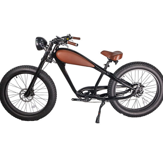 2019 Latest Design Leopard For Adult Chopper Electric Fat Bike