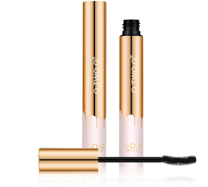 Private Label Gold Tube Younique Mascara De Soldar 4D Anti Blooming Mascara