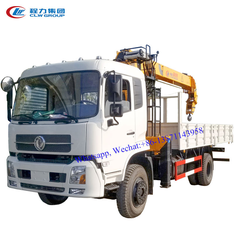 DFAC 10 ton truck with crane ,truck mounted crane