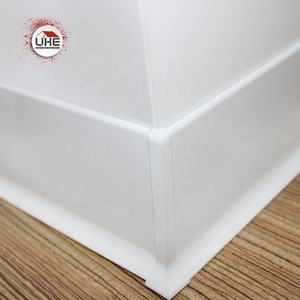 Aluminum Wall Skirting Baseboard accessories Floor Waterproof Decorative Tile Trim Aluminum Profile